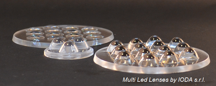 "Multi Led lenses ""Custom"" by IODA s.r.l."