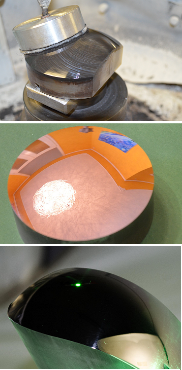 polishing steel molds
